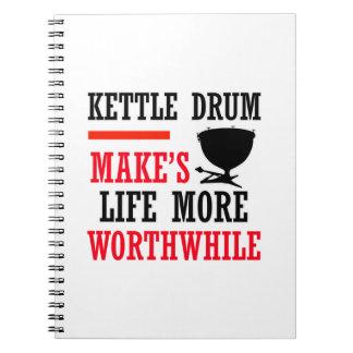diseño de los tambores de la caldera cuadernos
