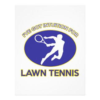 diseño de los tenis sobre hierba membretes personalizados