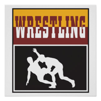 diseño de lucha poster
