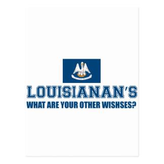 diseño de Luisiana Postal