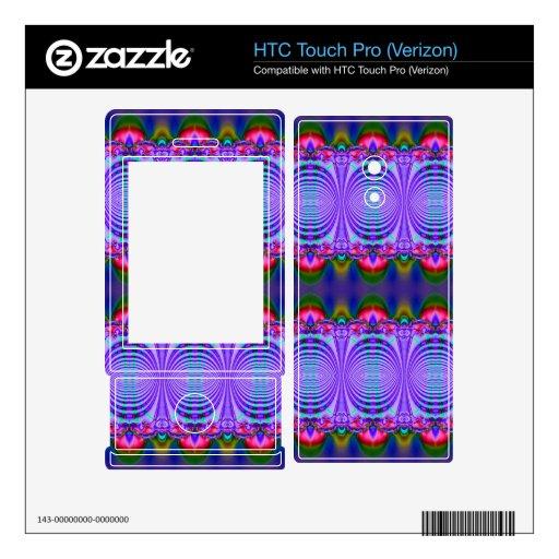 Diseño de lujo de la cinta azul HTC touch pro skins