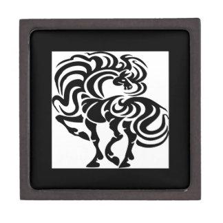 Diseño de lujo del caballo cajas de recuerdo de calidad