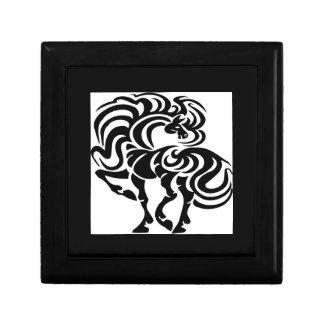 Diseño de lujo del caballo cajas de recuerdo