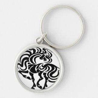 Diseño de lujo del caballo llavero