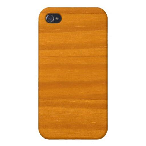 Diseño de madera iPhone 4 cárcasas