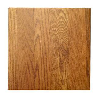 Diseño de madera ligero del grano azulejo cuadrado pequeño