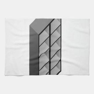Diseño de madera simple del estante toallas de mano