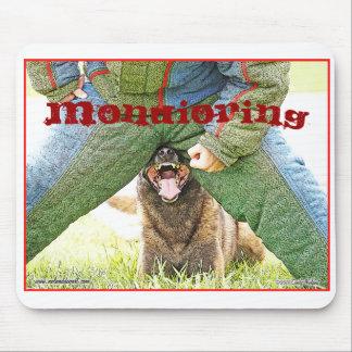 Diseño de Malinois del dogsport de Mondioring Alfombrillas De Raton
