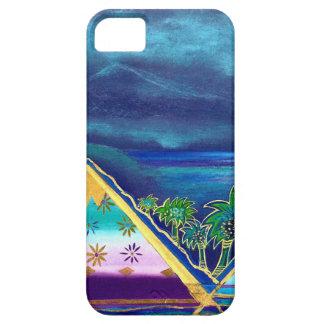 "diseño de maqueta de pastel ""Isla Paraiso "" iPhone 5 Case-Mate Cobertura"
