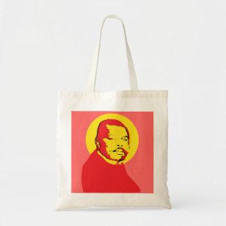 Diseño de Marco Garvey del arte pop Bolsa De Mano