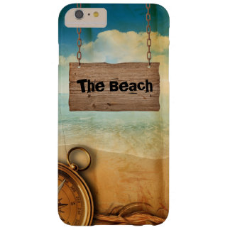 Diseño de Maritim con el caso conocido del iPhone Funda De iPhone 6 Plus Barely There