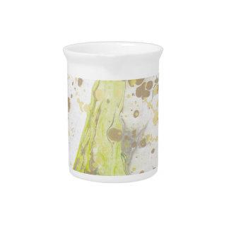 Diseño de mármol jarra para bebida