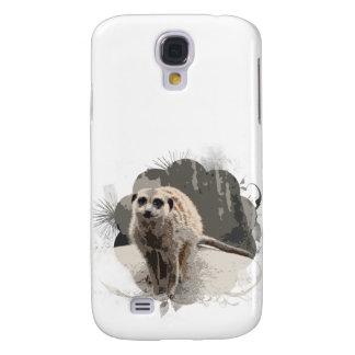 Diseño de Meerkat ido salvaje Samsung Galaxy S4 Cover