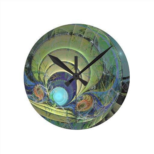 Diseño de moda 004 del cubilete reloj redondo mediano
