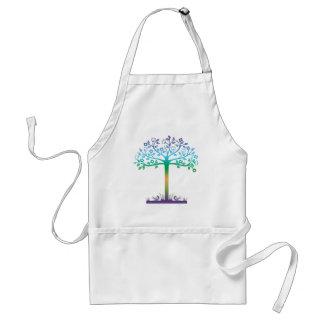 Diseño de moda del árbol delantal
