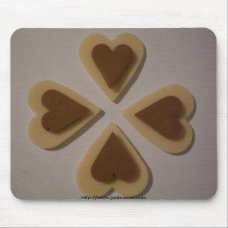 Diseño de Mousepad de la gama de los corazones del Alfombrilla De Raton