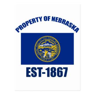 Diseño de Nebraska Postal