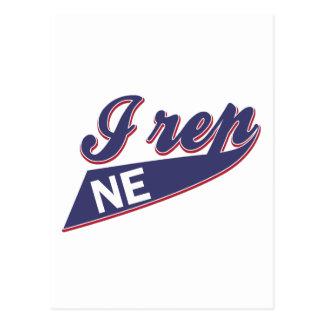 Diseño de Nebraska Tarjeta Postal