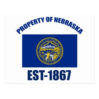 Diseño de Nebraska Tarjetas Postales