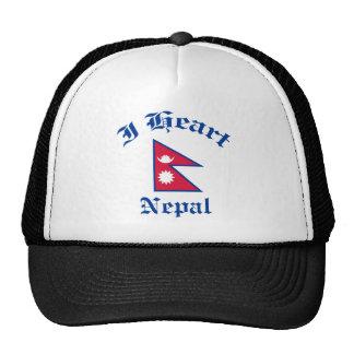Diseño de Nepal Gorros Bordados
