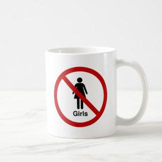 """Diseño de """"ningunos chicas"""" tazas de café"""