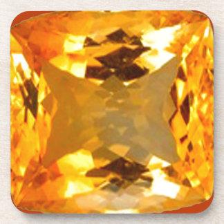 Diseño de oro de la gema del Topaz por Sharles Posavasos