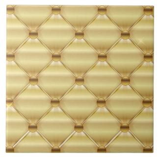 Diseño de oro de la tapicería azulejo cuadrado grande