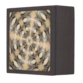 Diseño de oro Illuminating de Kladescope de la pla Cajas De Regalo De Calidad