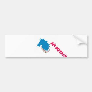 Diseño de parachoques del logotipo del poder de pegatina para auto