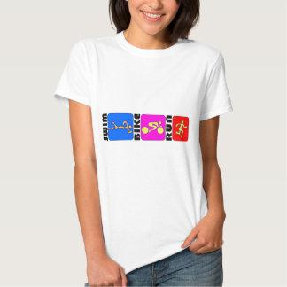 Diseño de parachoques del TRI del Triathlon de la Camisas