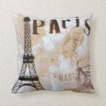 Diseño de París Cojin