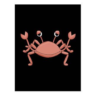 Diseño de personaje de dibujos animados rojo lindo postales