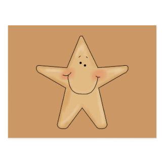 Diseño de personaje de dibujos animados sonriente  tarjetas postales
