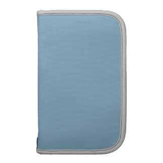 Diseño de plata azul del color de la oscuridad mej planificador