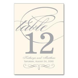 Diseño de plata de la caligrafía de la tarjeta el