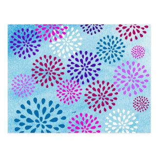 Diseño de Poms de los pétalos de la flor de la flo