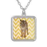 Diseño de producto del arte de los tigres joyerias personalizadas