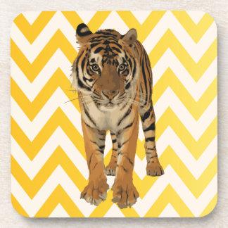 Diseño de producto del arte de los tigres posavasos