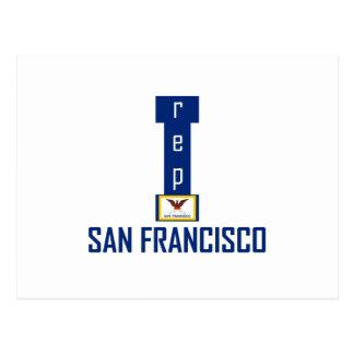Diseño de San Francisco Postales