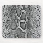 Diseño de Snakeskin, modelo de la impresión de la  Tapete De Ratón