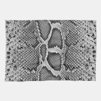 Diseño de Snakeskin, modelo de la impresión de la  Toalla De Mano