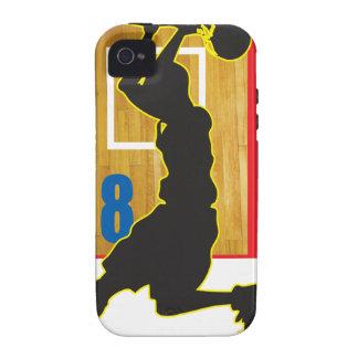 Diseño de Sportidu - Basketball2 Vibe iPhone 4 Funda