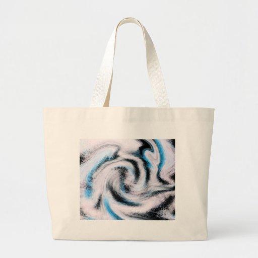 Diseño de Swirly Whirly cerca, Megan Eller Bolsa