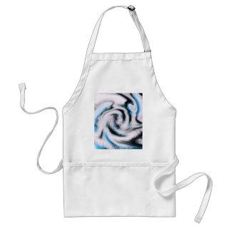 Diseño de Swirly Whirly cerca, Megan Eller Delantal