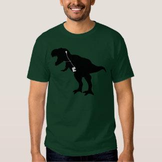 Diseño de T-Rex del baile Poleras