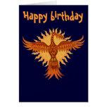 Diseño de tarjeta fresco del feliz cumpleaños del