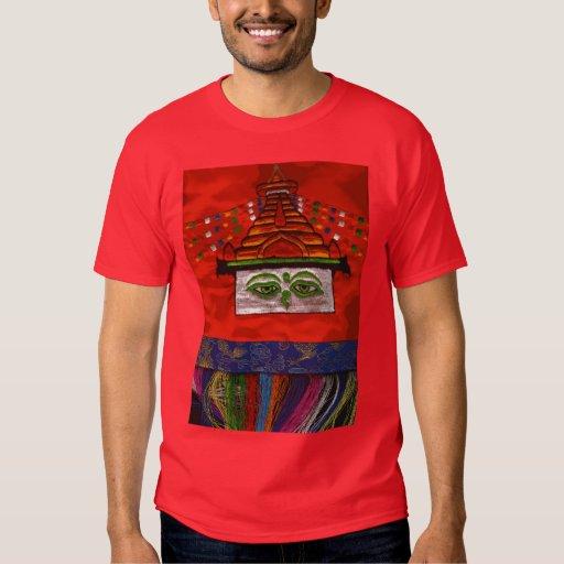 Diseño de Tíbet Playera