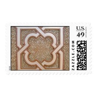 Diseño de trabajos islámico del hierro sellos