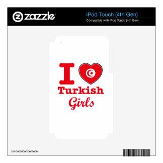 Diseño de Turquía Calcomanía Para iPod Touch 4G