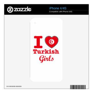Diseño de Turquía Skins Para iPhone 4